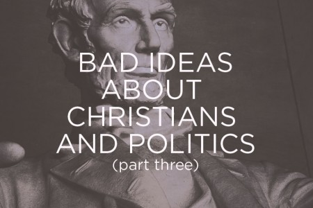 Christians and Politics pt 3