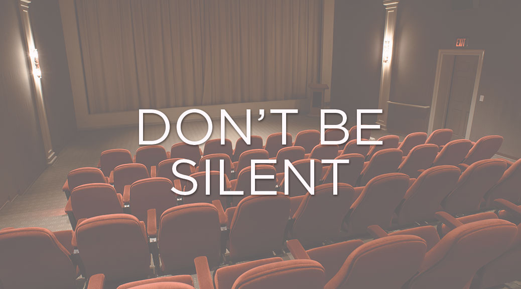 Don't Be Silent – 3801 Lancaster