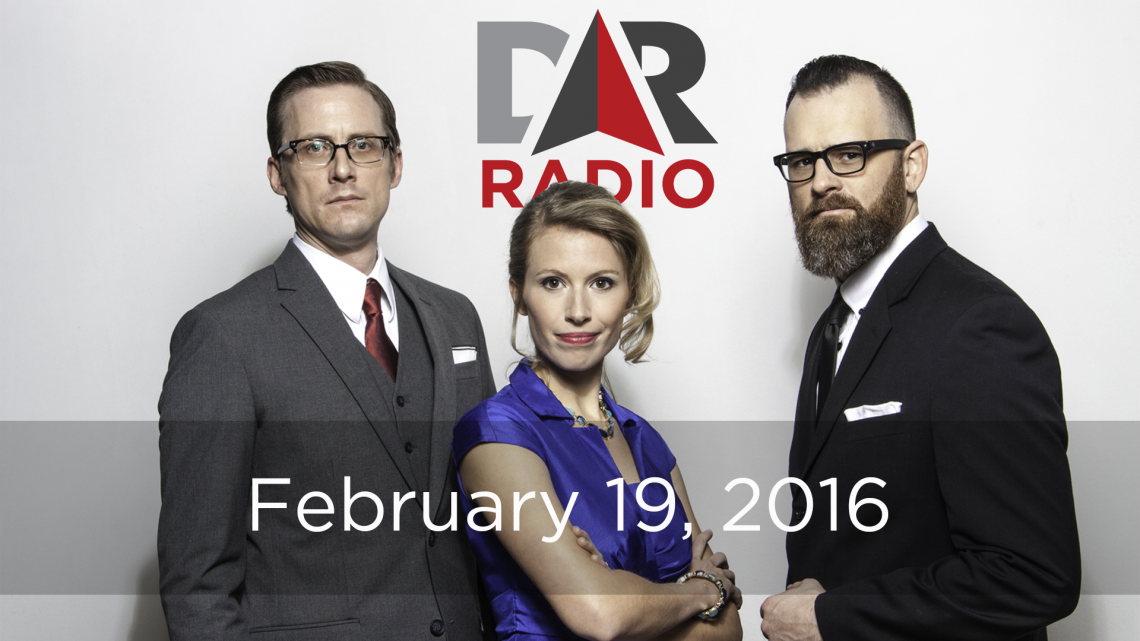 DR Radio Feb. 19, 2016: Hocus SCOTUS, Apple vs. FBI & the Donald vs. the Pope