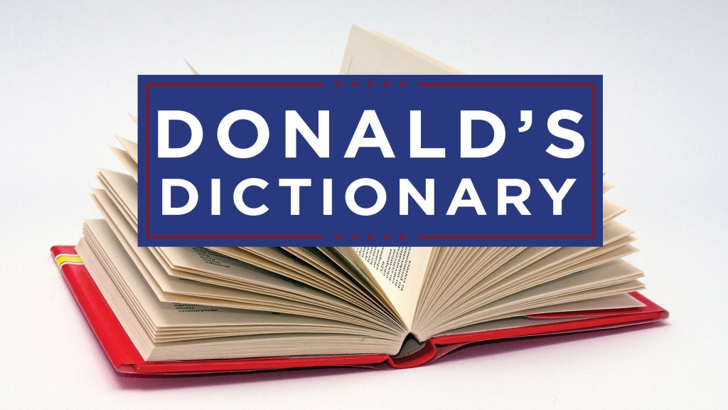 Donald's Dictionary