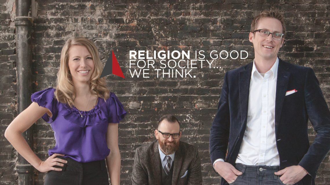 DR Radio: Religion is Good for Society… We Think.
